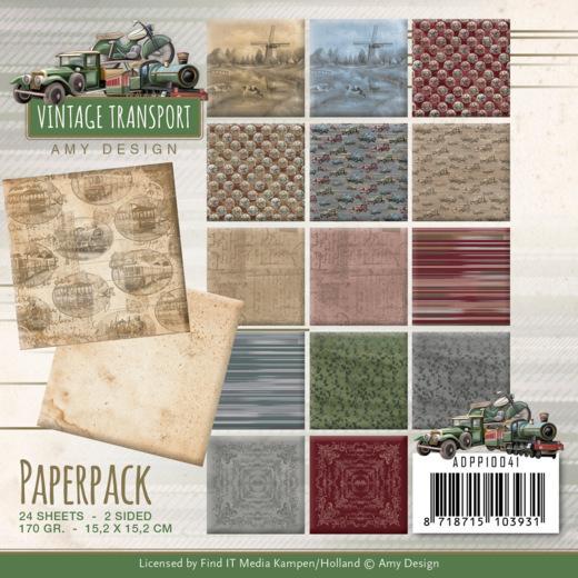 Paperpack - Amy Design - Vintage Transport
