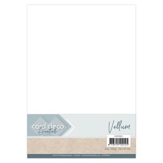 Card Deco Essentials - Vellum A4