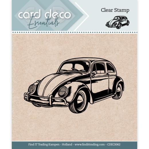 Card Deco Essentials - Clear Stamps - Car