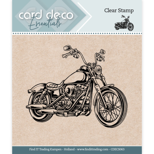 Card Deco Essentials - Clear Stamps - Motor