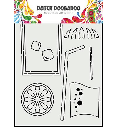 Card Art A5 Cocktail glass