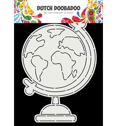 Card Art A5 Globe