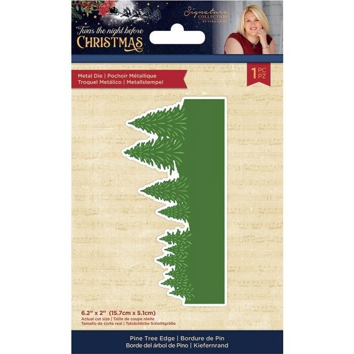 Sara Signature - 'Twas the Night Before Christmas - Snijmal - Pine Tree Edge