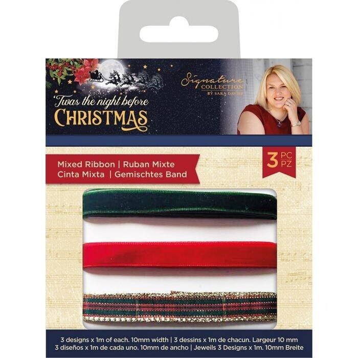 Sara Signature - 'Twas the Night Before Christmas - Mixed Ribbon
