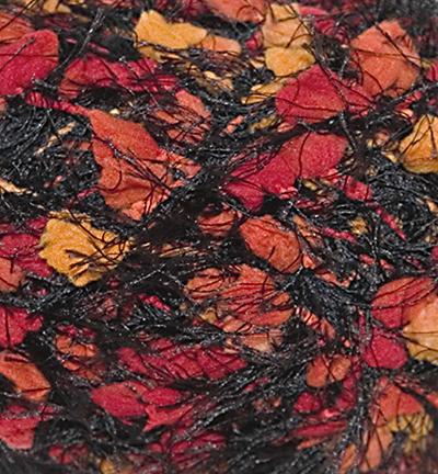 Malibu Mix Wool, Black/orange/yellow