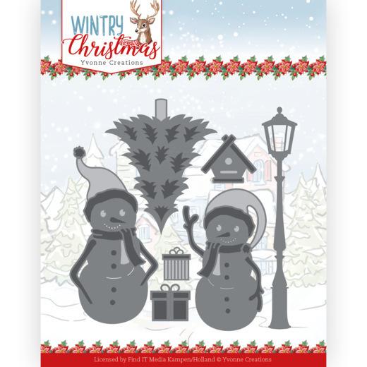 Dies - Yvonne Creations - Wintery Christmas - Snow Friends