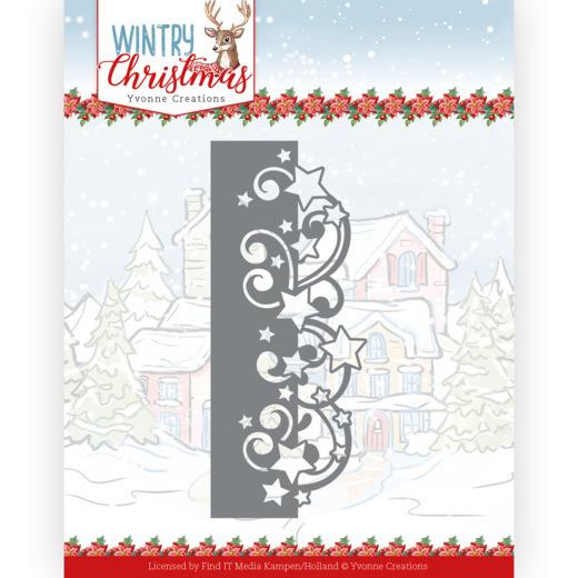 Dies - Yvonne Creations - Wintery Christmas - Stars Border