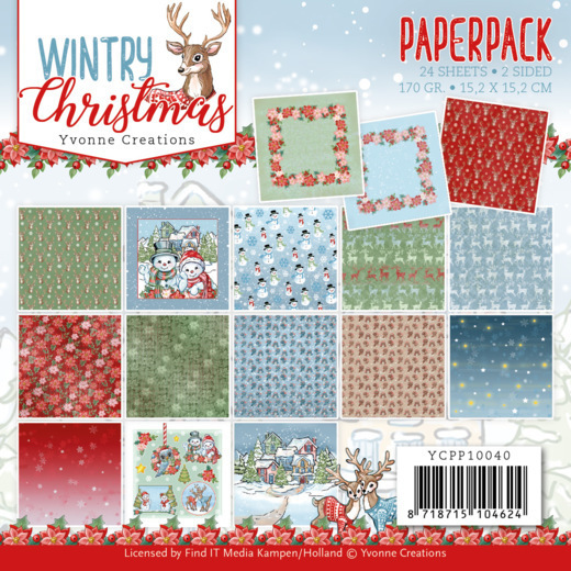 Paperpack - Yvonne Creations - Wintery Christmas