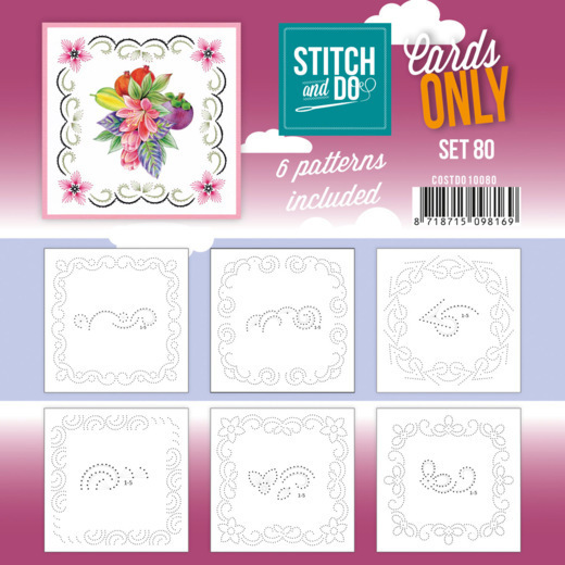 Stitch and Do - Cards Only Stitch 4K - 80