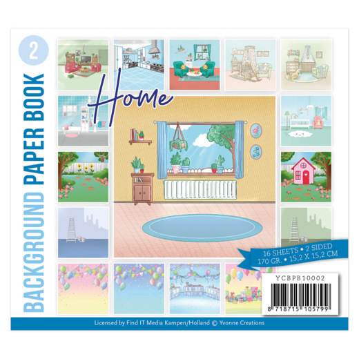 Background Paper Book 2 - Yvonne Creations -Home