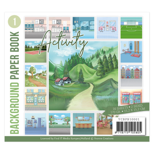 Background Paper Book 1 - Yvonne Creations - Activity