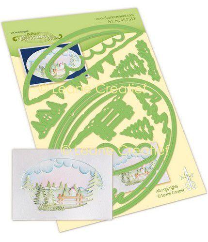 LeCrea - Leabilitie® Diorama winter snij en embossing mal 45.7552 (09-21)