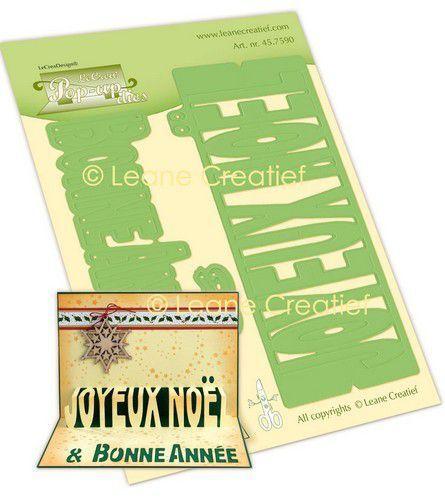 LeCrea - Leabilitie® Pop-Up Joyeux Noël (FR)  snijmal 45.7590 (09-21)