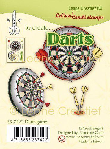 LeCrea - Clear stamp combi  Darts 55.7422 (09-21)