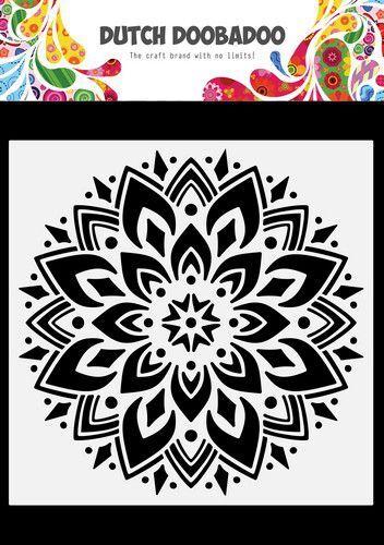 Dutch Doobadoo Dutch Mask Art Doodle Mandala 470.784.034 148x148mm (09-21)