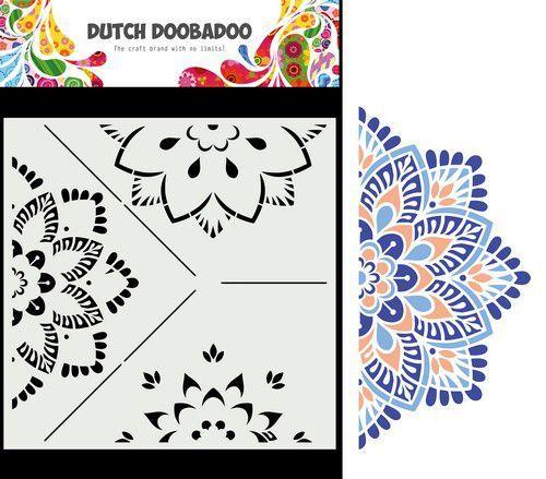 Dutch Doobadoo Mask Art Mandala B 470.784.032 210x210mm (09-21)