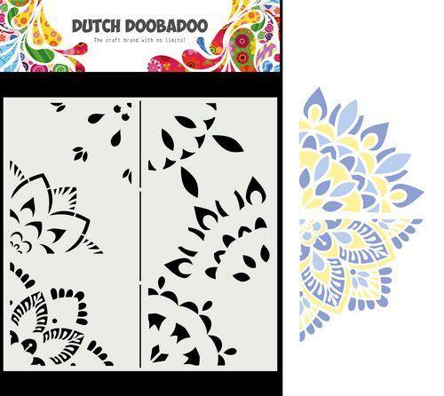 Dutch Doobadoo Mask Art Mandala A 470.784.031 210x210mm (09-21)