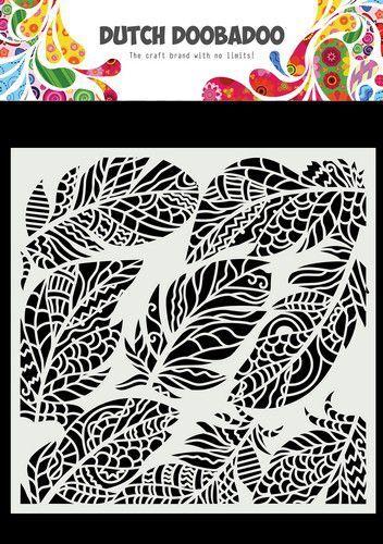 Dutch Doobadoo Dutch Mask Art veren 470.784.030 150x150mm (09-21)
