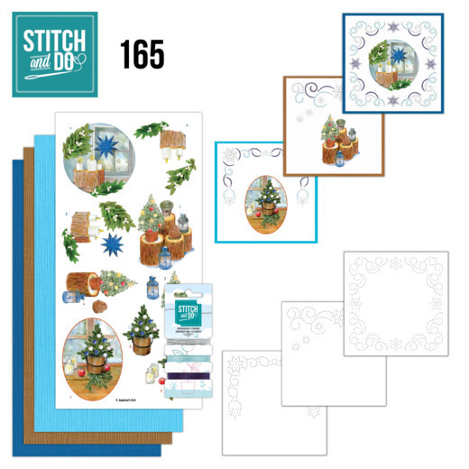 Stitch and Do 165 -Jeanine's Art -Christmas Cottage