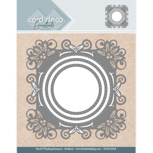Card Deco Essentials - Aperture Dies Holly Round