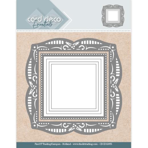 Card Deco Essentials - Aperture Dies Holly Square