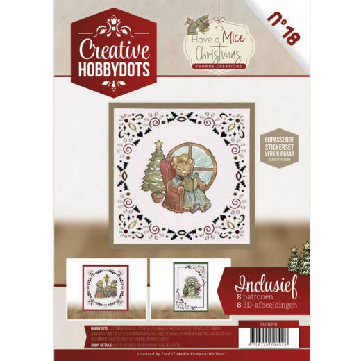 Creative Hobbydots 18 - Have a Mice Christmas