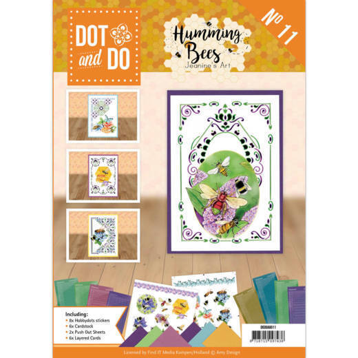 Dot and Do Book 11- Jeanine's Art - Humming bees