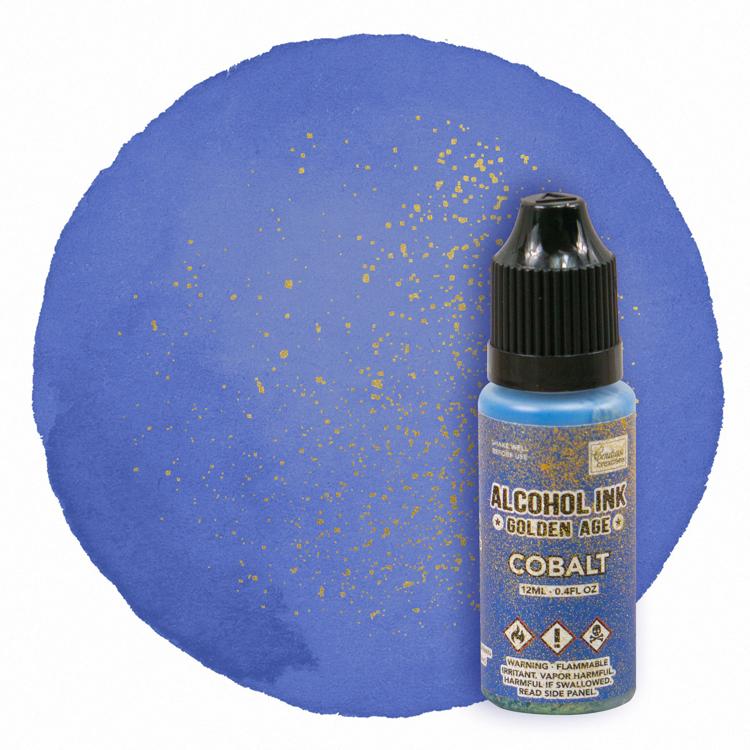 Alcohol Ink Golden Age Cobalt