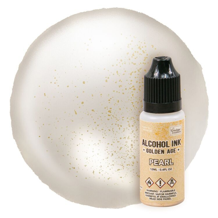 Alcohol Ink Golden Age Pearl
