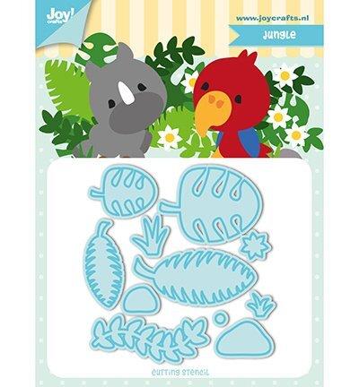 Joy!Crafts 6002/1194 Snijstencil - Jocelijne - TF - Jungle