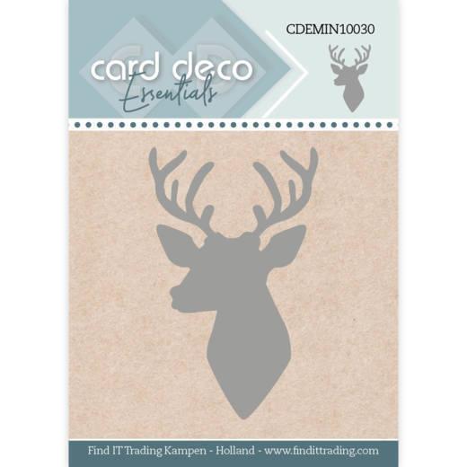 Card Deco Essentials - Mini Dies - Deer Silhouette