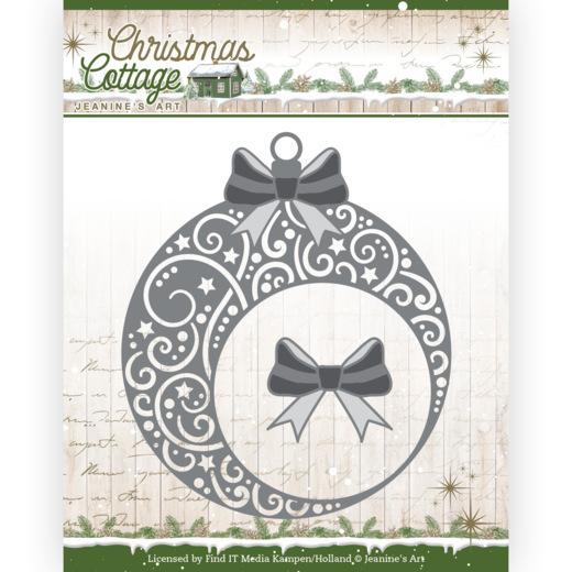 Dies - Jeanine's Art - Christmas Cottage - Christmas Swirls Bauble