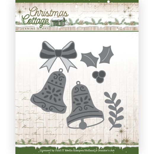 Dies - Jeanine's Art - Christmas Cottage - Christmas Bells