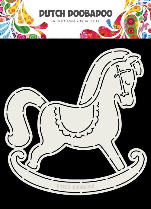 Dutch Doobadoo - Card Art - Schommelpaard - 470.713.766