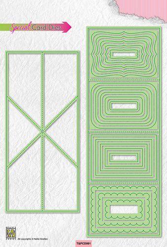 Nellie's Choice Special card Die - Twist & Pop card dies T&PCD001 (10-21)
