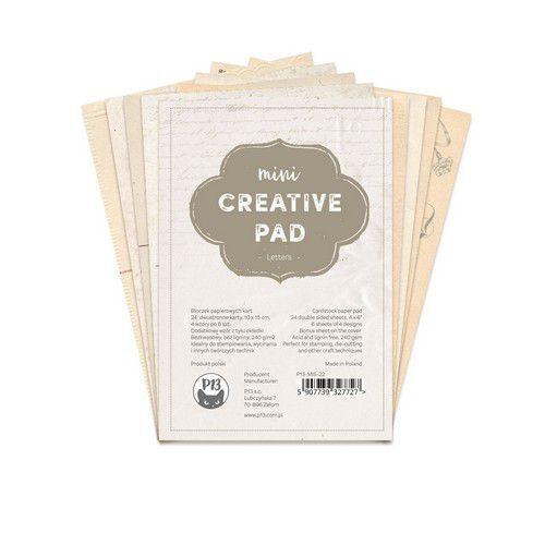 Piatek13 - Mini Creative Pad Letters 6x4 P13-MIS-22 6x4 (09-21)