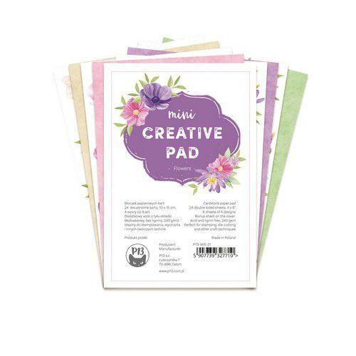 Piatek13 - Mini Creative Pad Flowers 6x4 P13-MIS-21 6x4 (09-21)