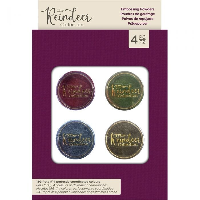 The Reindeer Collection - Embossing Poeders (4pk)