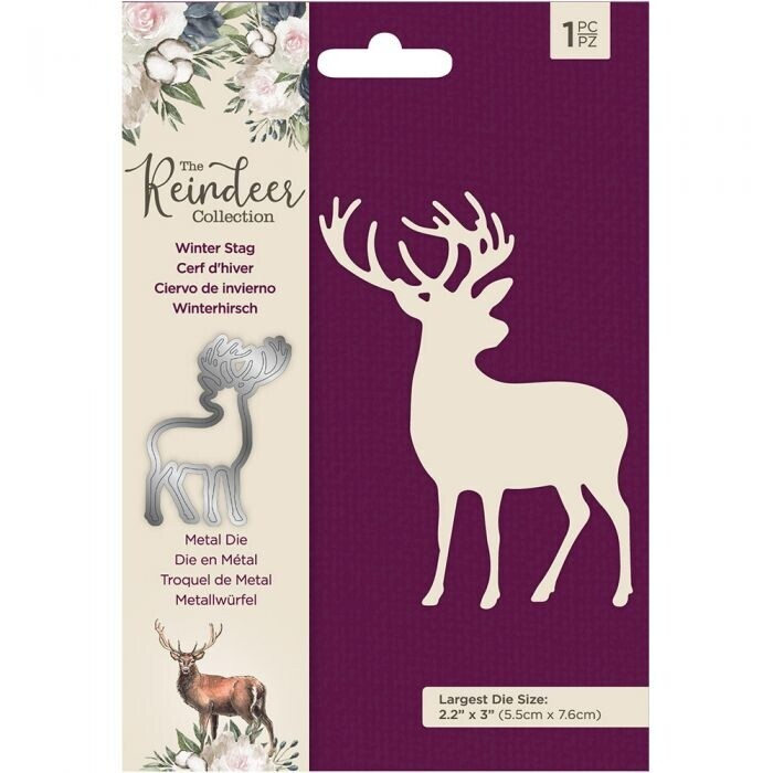 The Reindeer Collection - Snijmal - Winter Stag