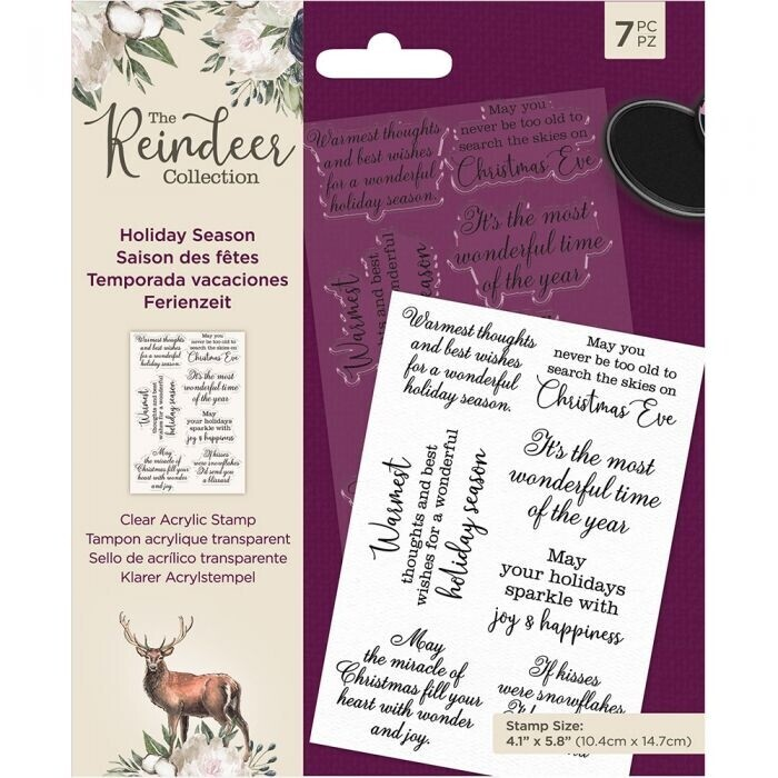 The Reindeer Collection - Clearstamp - Holiday Season