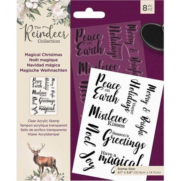 The Reindeer Collection - Clearstamp - Magical Christmas