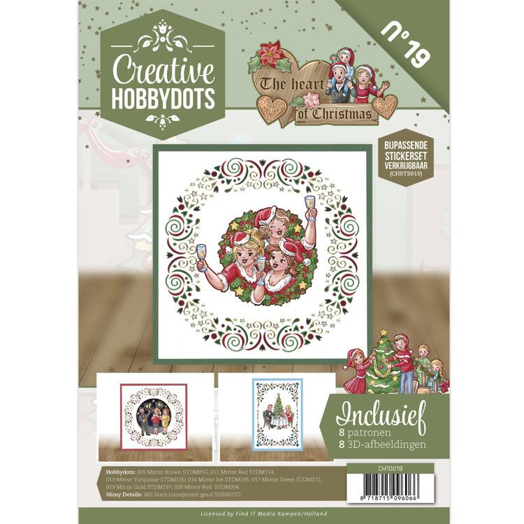 Creative Hobbydots 19 - Yvonne Creations - The Heart of Christmas