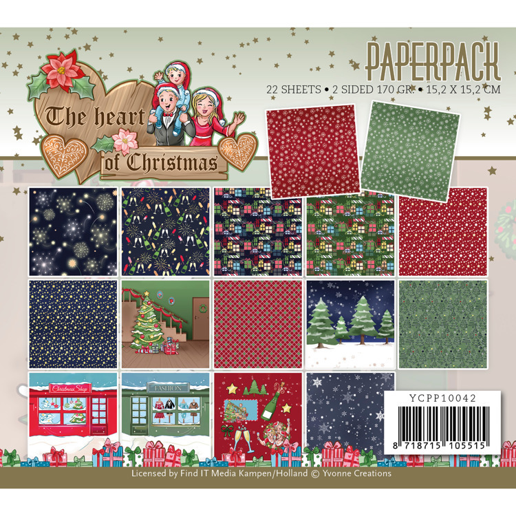 Paperpack - Yvonne Creations - The Heart of Christmas