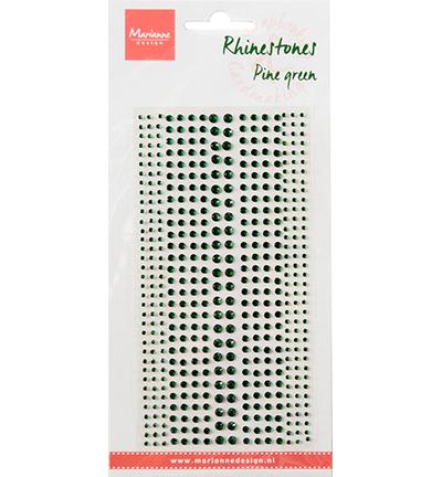 Rhinestones, Pine green