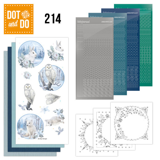 Dot and Do 214 - Amy Design - Awesome Winter - Winter Animals