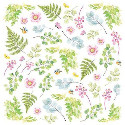 Craft&You Woodland Story sheet elements to cut out 12x12 CP-WS07 (10-21)