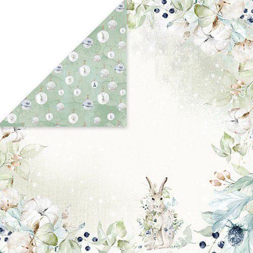Craft&You Arctic Winter Scrapbooking single paper 12x12 CP-AW06 (10-21)