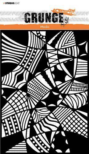 Studio Light Mask Stencil Grunge Collection nr.54 SL-GR-MASK54 150x210mm (10-21)