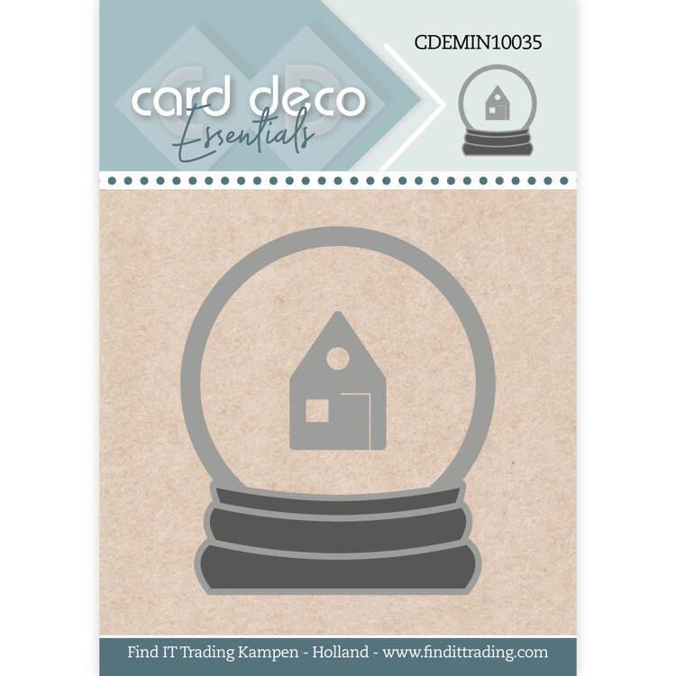 Card Deco Essentials - Mini Dies - Snowglobe