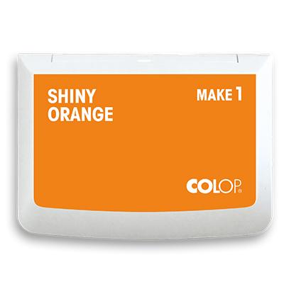 Shiny orange